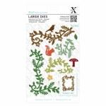 XCut Large Dies (9pcs) Woodland Flourishes