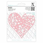 Xcut Die (1pc) Floral Love Heart