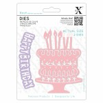 Xcut Die (1pc) Birthday Cake