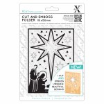 Xcut Cut&Emboss Nativity Star
