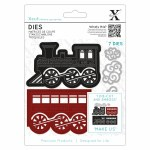 XCut Dies (5pcs) Christmas Train