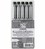 ZIG Millennium Fineliner 5pk