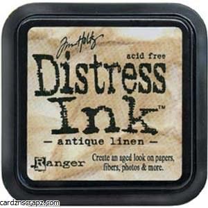 Ranger Tim Holtz Antique Linen Distress Ink Pad
