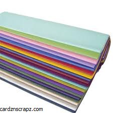 Tissue Assorted Colours 480pk
