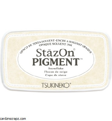 Staz-on Ink Pad Pigment White