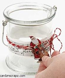 Candle Night Light Holder 10cm