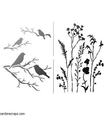 Viva Decor Gr?ser & V?gel / Grasses & Birds