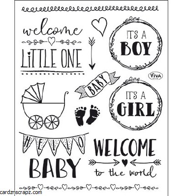 Clear Stamp Viva New Baby