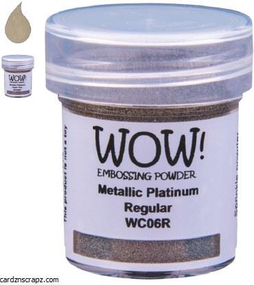 Wow! Emboss Powder 15ml Superfine Platinum