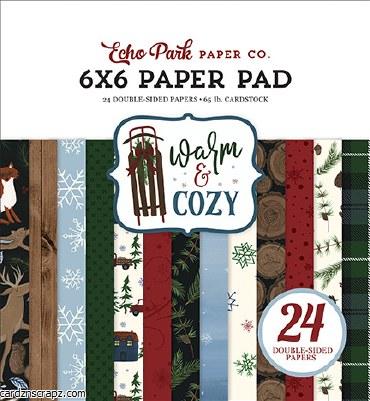 Paper Pk 6x6 EP Warm & Cozy