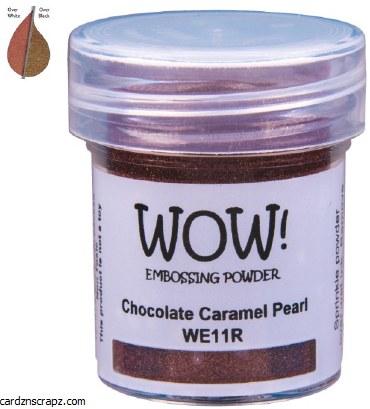 Wow! Emboss Powder 15ml Regular Chocolate Carmel Pearl