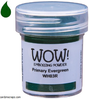 Wow! Emboss Powder R Evergreen