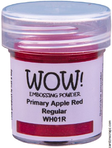 Wow! Emboss Powder Regular Grade Apple Red