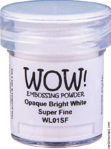 Wow! Emboss Powder 15ml Superfine White