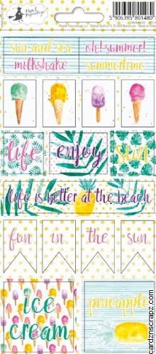 Word Stickers Piatek Summertime #2