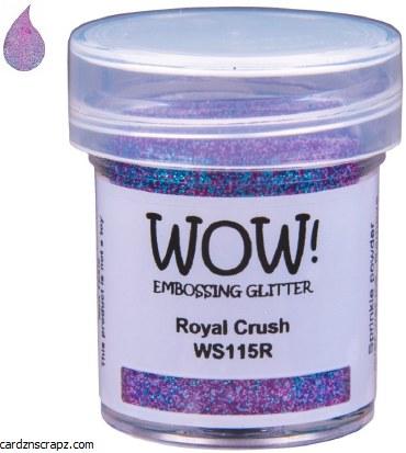 Wow! Emboss Powder 15ml Regular Royal Crush