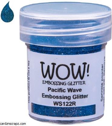 Wow! Emboss Powder 15ml Regular Pacific Wave
