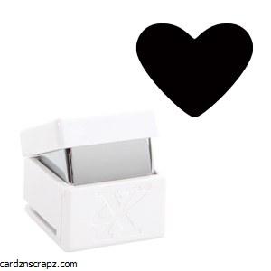 "XCut Handheld Punch Heart 5/8"""