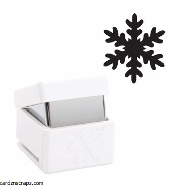 X-Cut Small Palm Punch - Icy Snowflake