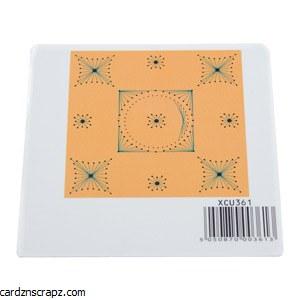 Perforator Stencil Patchwork Squares
