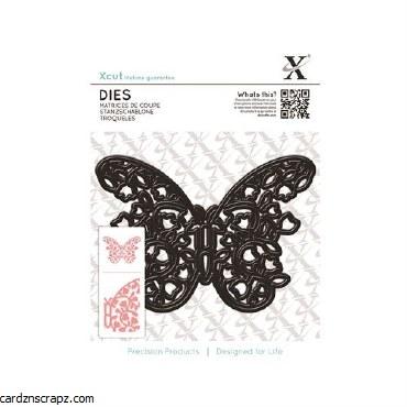 XCut Dies (1pcs) Floral Filigree Butterfly