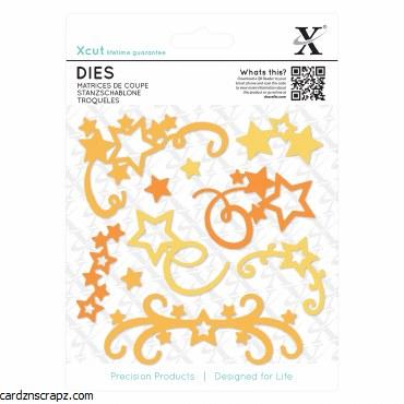 Dies (10pcs) Star Flourish