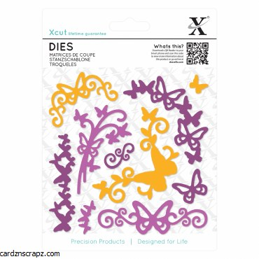 Dies (10pcs) Butterfly Flouris