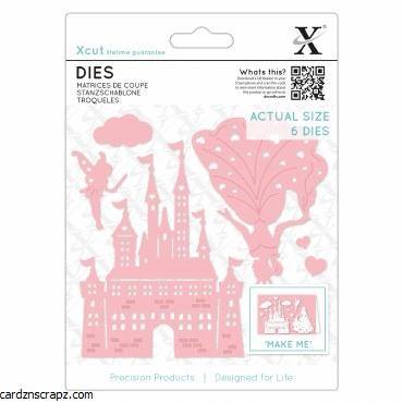 Xcut Die (6pcs) Princess & Castle
