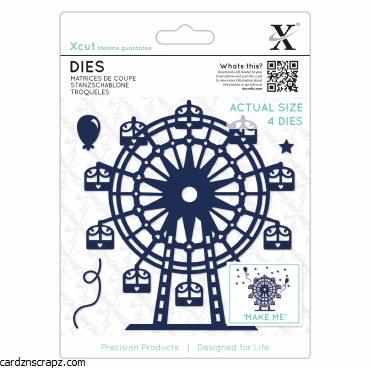 Xcut Die (4pcs) Ferris Wheel