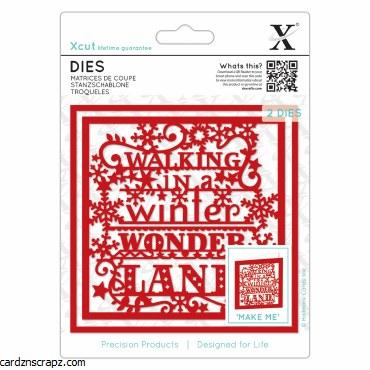 Xcut Dies Winter Wonderland