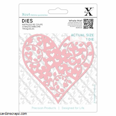 Xcut Die (1pc) Floral Love Heart