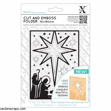 Xcut Cut&Emboss Nativity Star