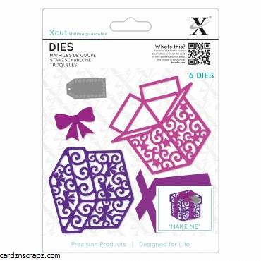 XCut Dies (6pcs) Filigree Presents