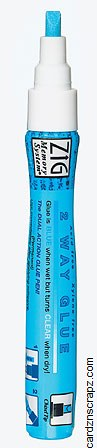 Zig Chisel Tip Glue Pen 4mm