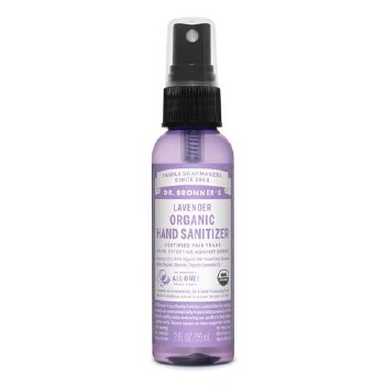 Dr Bronner's Org Hand Sanitizer Lavender   60ml