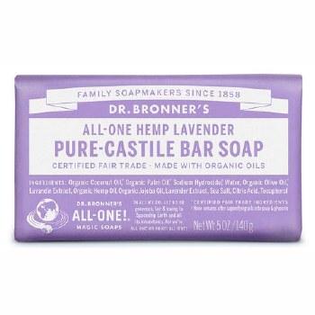 Dr Bronner Lavender Soap Bar   140g