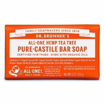 Dr Bronner's Magic Soap     Tea Tree Soap Bar   140g