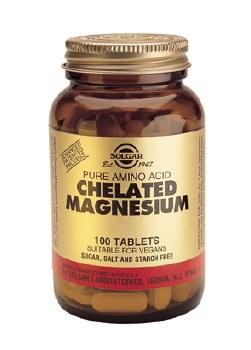 Solgar Vitamins Chelated Magnesium  100 tabs