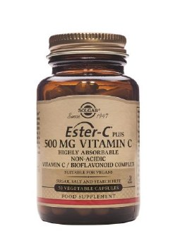 Solgar Vitamins Ester-c Plus 500mg 50 vcaps