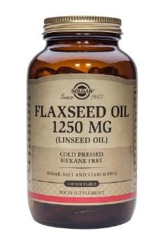 Solgar Vitamins Flaxseed Oil 1250mg  100 caps