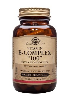 Solgar Vitamins Formula B-100  50 vcaps