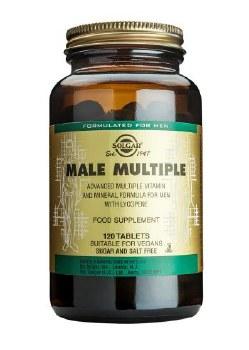 Solgar Vitamins Male multiple  120 tabs