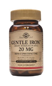 Solgar Vitamins Gentle Iron  90 vcaps