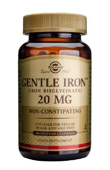Solgar Vitamins Gentle Iron  180 vcaps