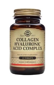 Solgar Vitamins Hyaluronic Acid 120mg 30 tablets