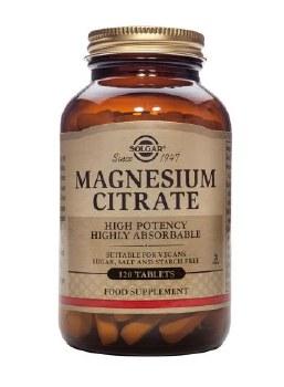 Solgar Vitamins Magnesium Citrate  120 tabs