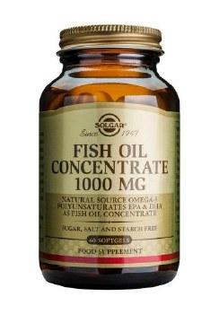 Solgar Vitamins Fish Oil Concentrate 1000mg 60 caps