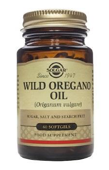 Solgar Vitamins Wild Oregano Oil 60 Softgels