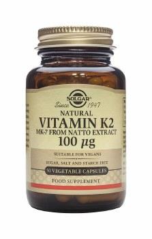 Solgar Vitamins Vitamin K2 100mcg 50 caps