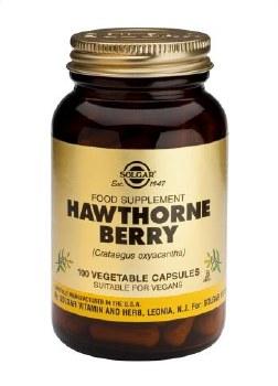Solgar Vitamins Hawthorn Berry 100 vegetable capsules